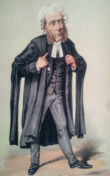William Ballantine Vanity Fair 5 March 1870 crop