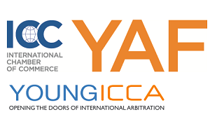 ICC YAF Young ICCA logos